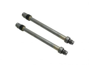 TrackTech Stand Pipes for 03-Early 04 6.0L Powerstroke