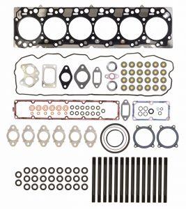 TrackTech Complete Top End Cylinder Head Gasket / Studs Service Kit for 07.5-18 6.7L Cummins 24V