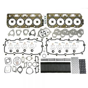 TrackTech Complete Top-End Cylinder Head Gasket / Studs Service Kit for 01-04 LB7 Duramax