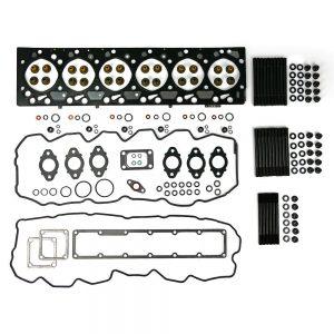 TrackTech Complete Cylinder Head Gasket / Studs Service Kit for 03-07 5.9L Cummins 24V
