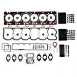 TrackTech Complete Top End Cylinder Head Gasket / Studs Service Kit for 98.5-02 5.9L Cummins 24V